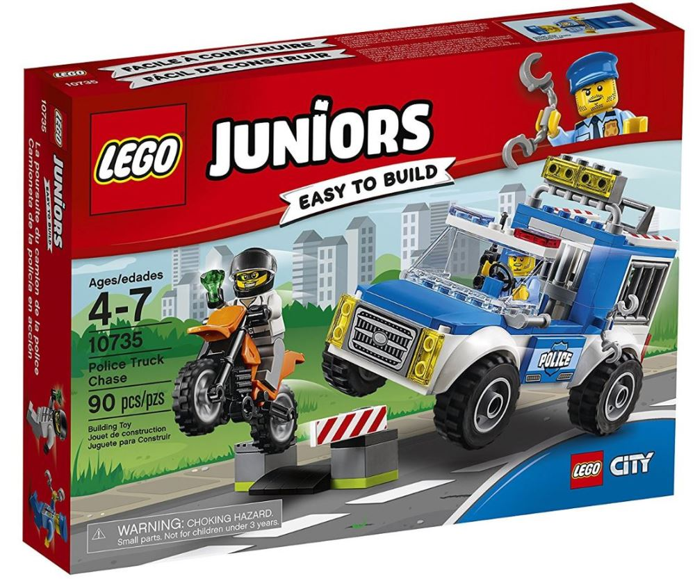 10735 - Juniors - Police Truck Chase