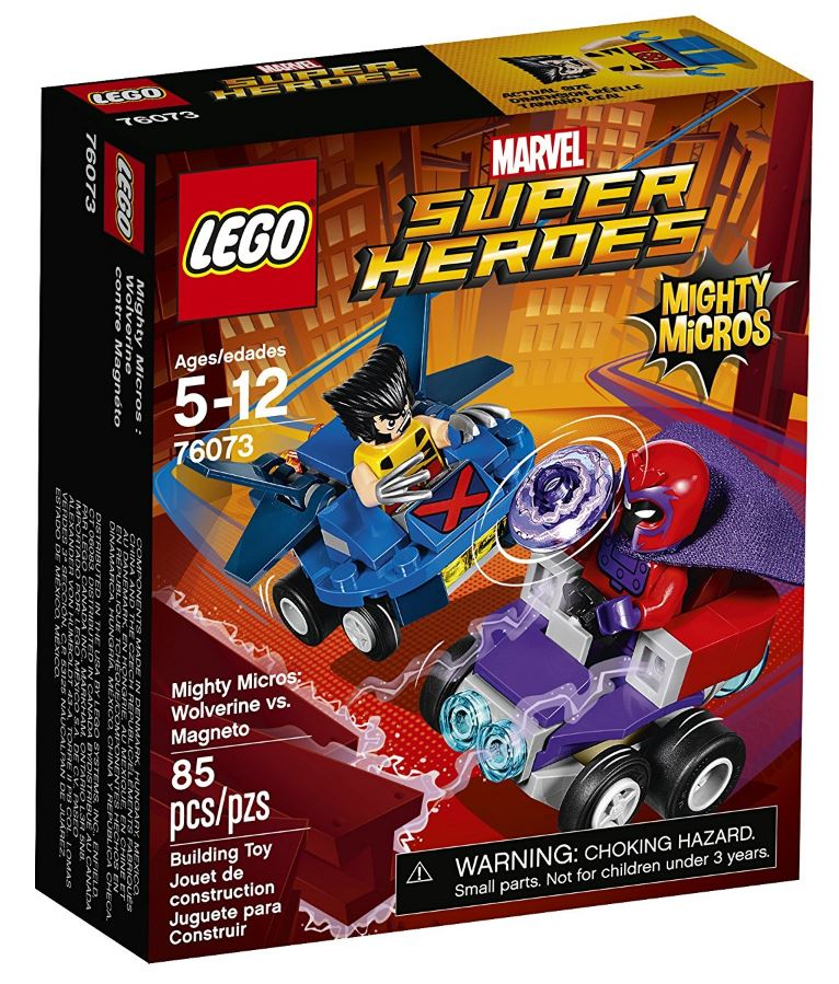 76073 - Super Heroes - Mighty Micros Wolverine vs. Magneto