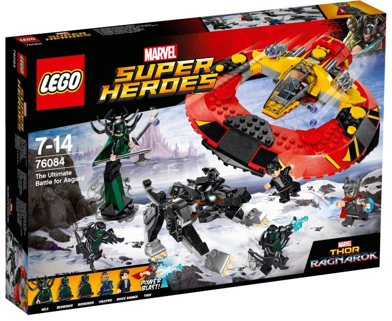 76084 - Super Heroes - The Ultimate Battle for Asgard