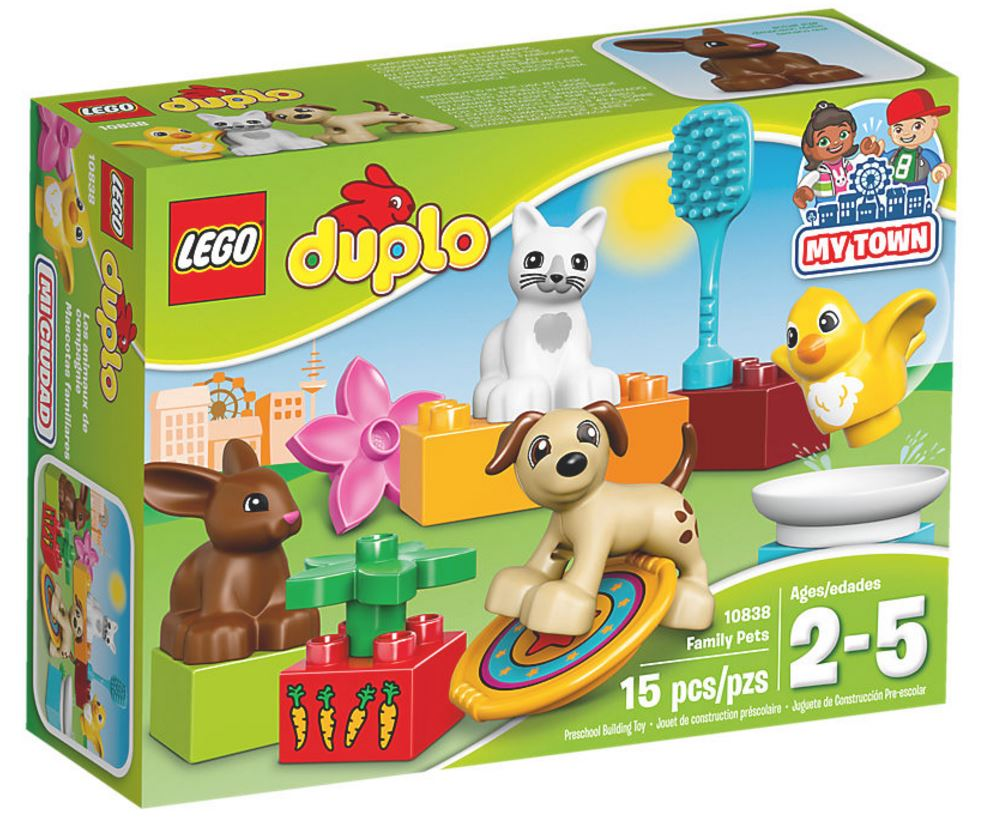 10838 - Duplo - Family Pets