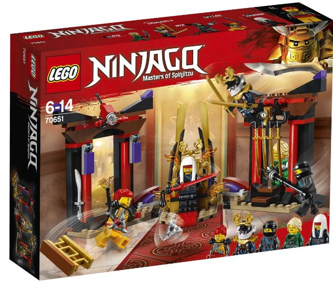 70651 - Ninjago - Throne Room Showdown