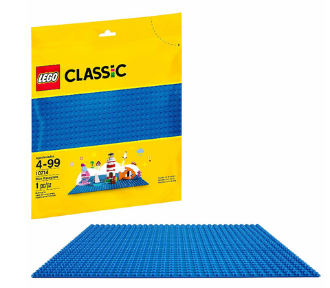 10714 - Classic - Blue Baseplate