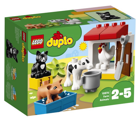 10870 - Duplo - Farm Animals