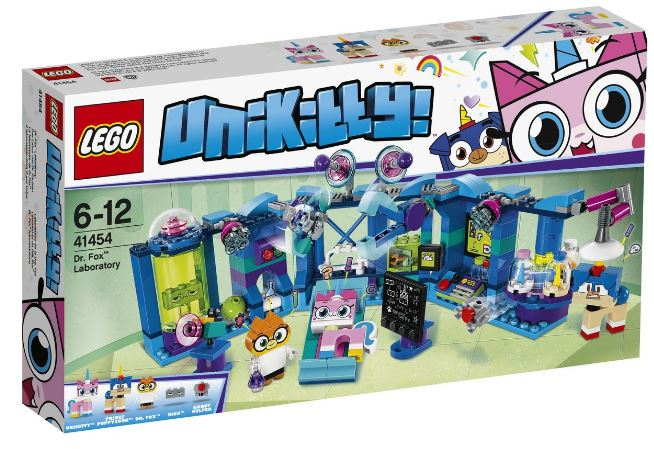 41454 - Unikitty - Dr. Fox Laboratory