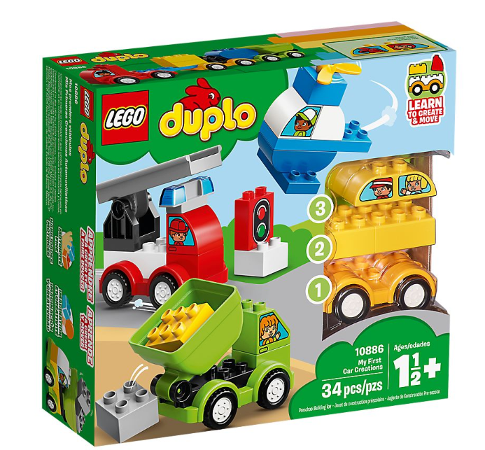 10886 - Duplo - My First Car Creation