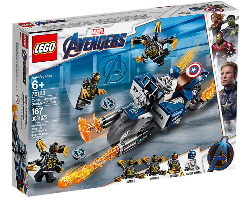76123 - Marvel - Captain America: Outriders Attack