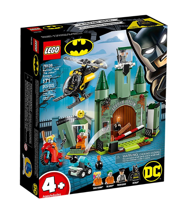76138 - Super Heroes - Batman and The Joker Escape