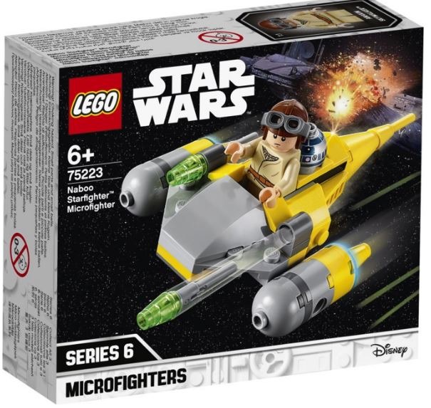 75223 - Star Wars - Naboo Starfighter Microfighter