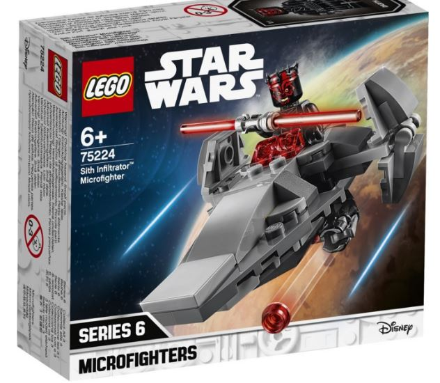 75224 - Star Wars - Sith Infiltrator Microfighter