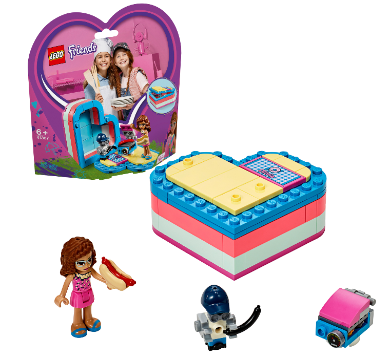 41387 - Friends - Olivias Summer Heart Box