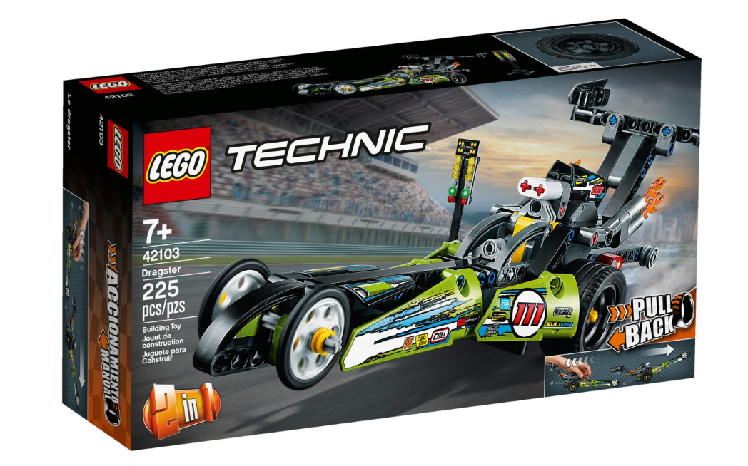 42103 - Technic - Dragster