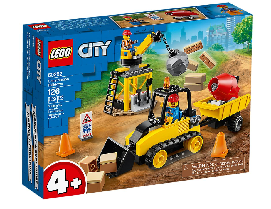 60252 - City - Construction Bulldozer