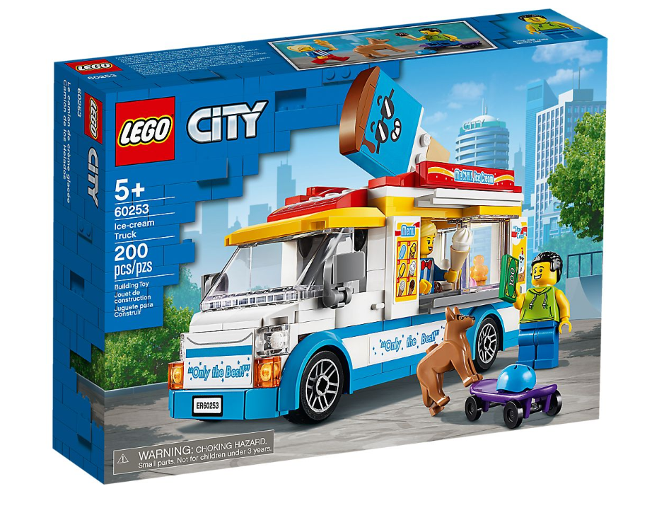 60253 - City - Ice-Cream Truck