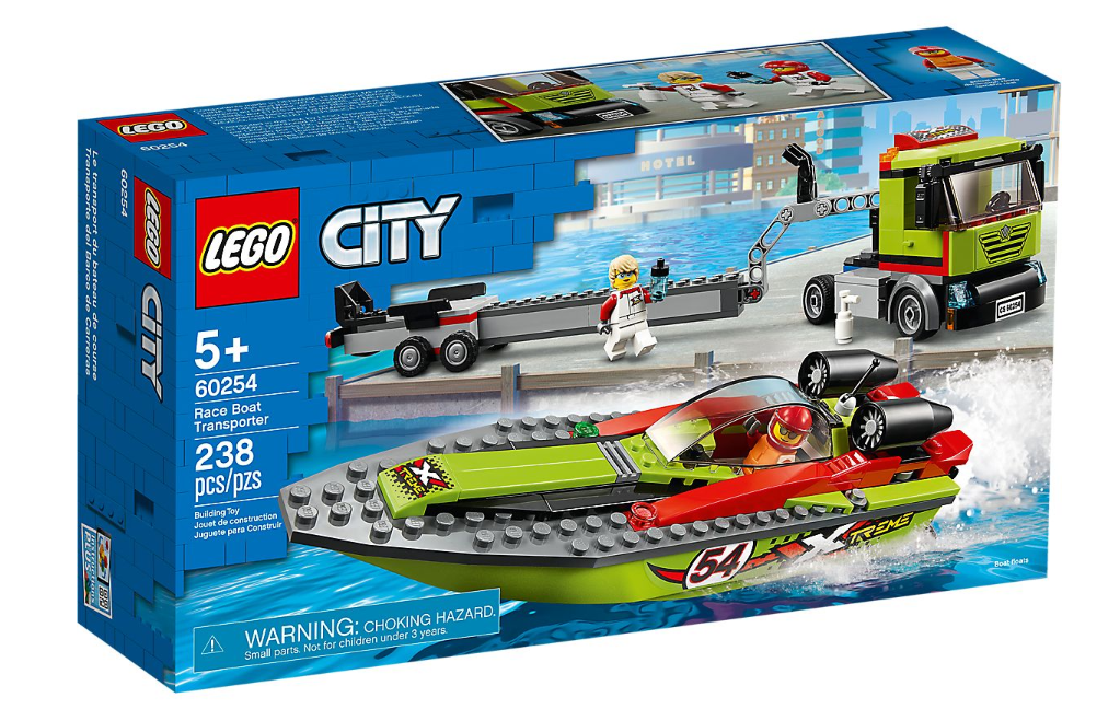 60254 - City - Race Boat Transporter