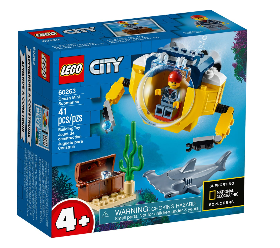 60263 - City - Ocean Mini-Submarine
