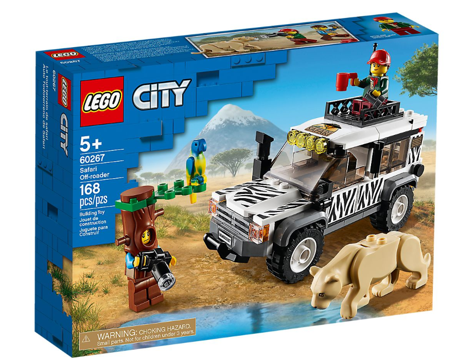 60267 - City - Safari Off-Roader