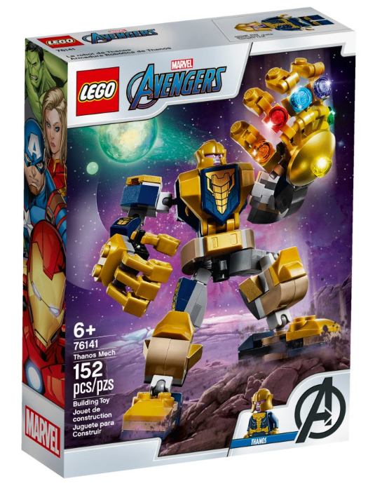 76141 - Marvel Avengers - Thanos Mech