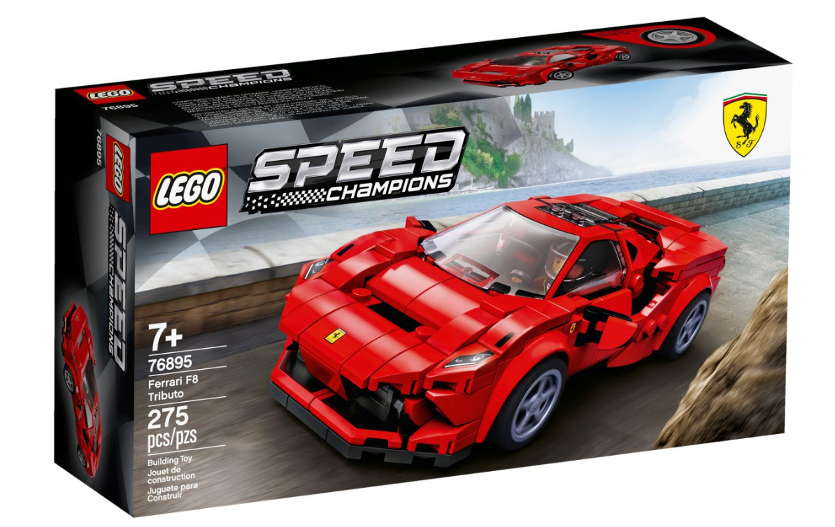 76895 - Speed Champions - Ferrari F8 Tributo