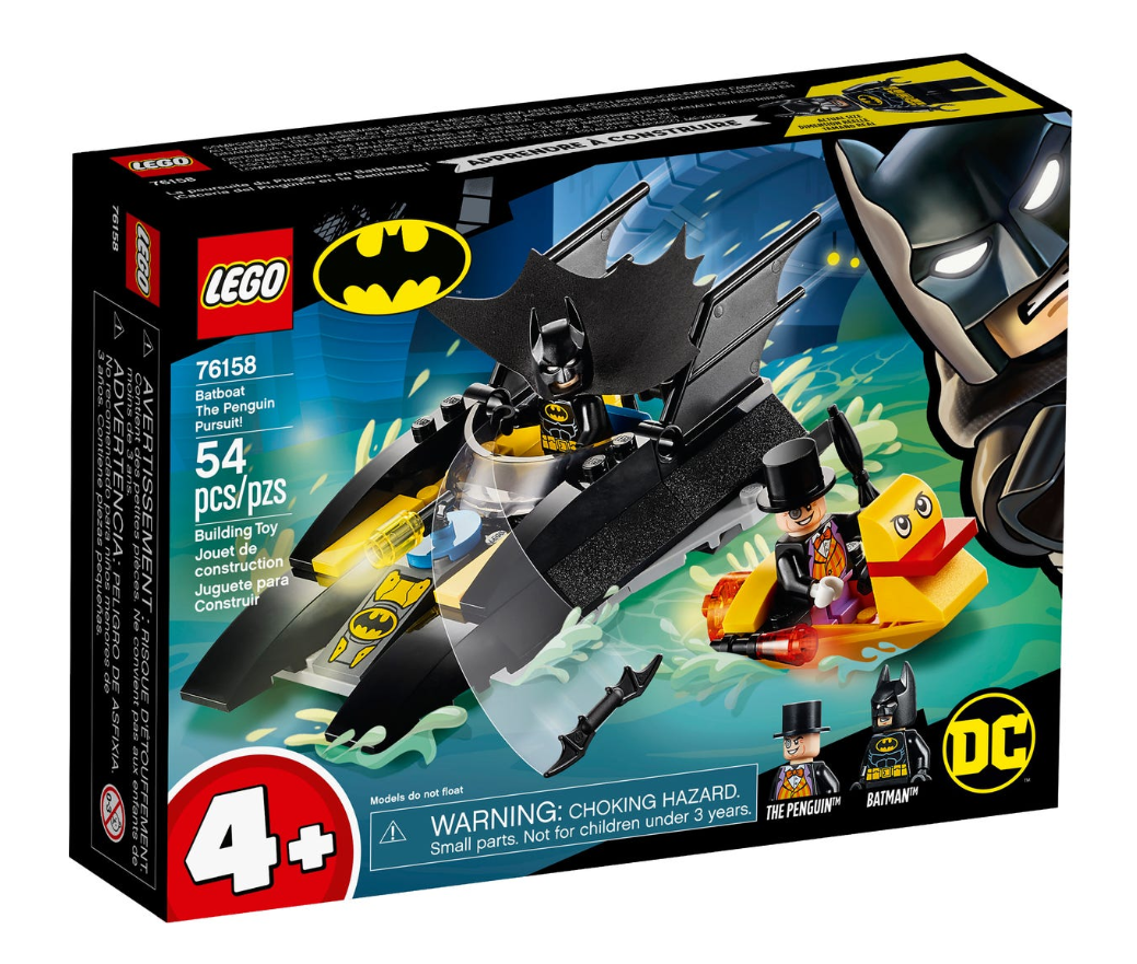 76158 - Batman - Batboat The Penguin Pursuit!