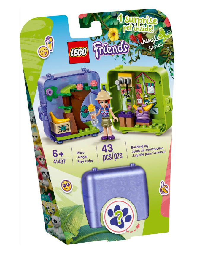 41437 - Friends - Mia's Jungle Play Cube