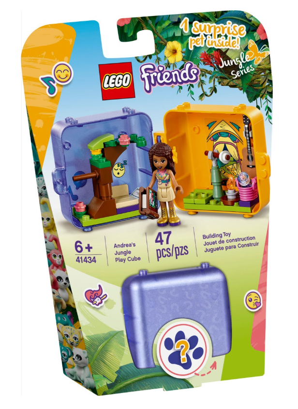 41434 - Friends - Andrea's Jungle Play Cube