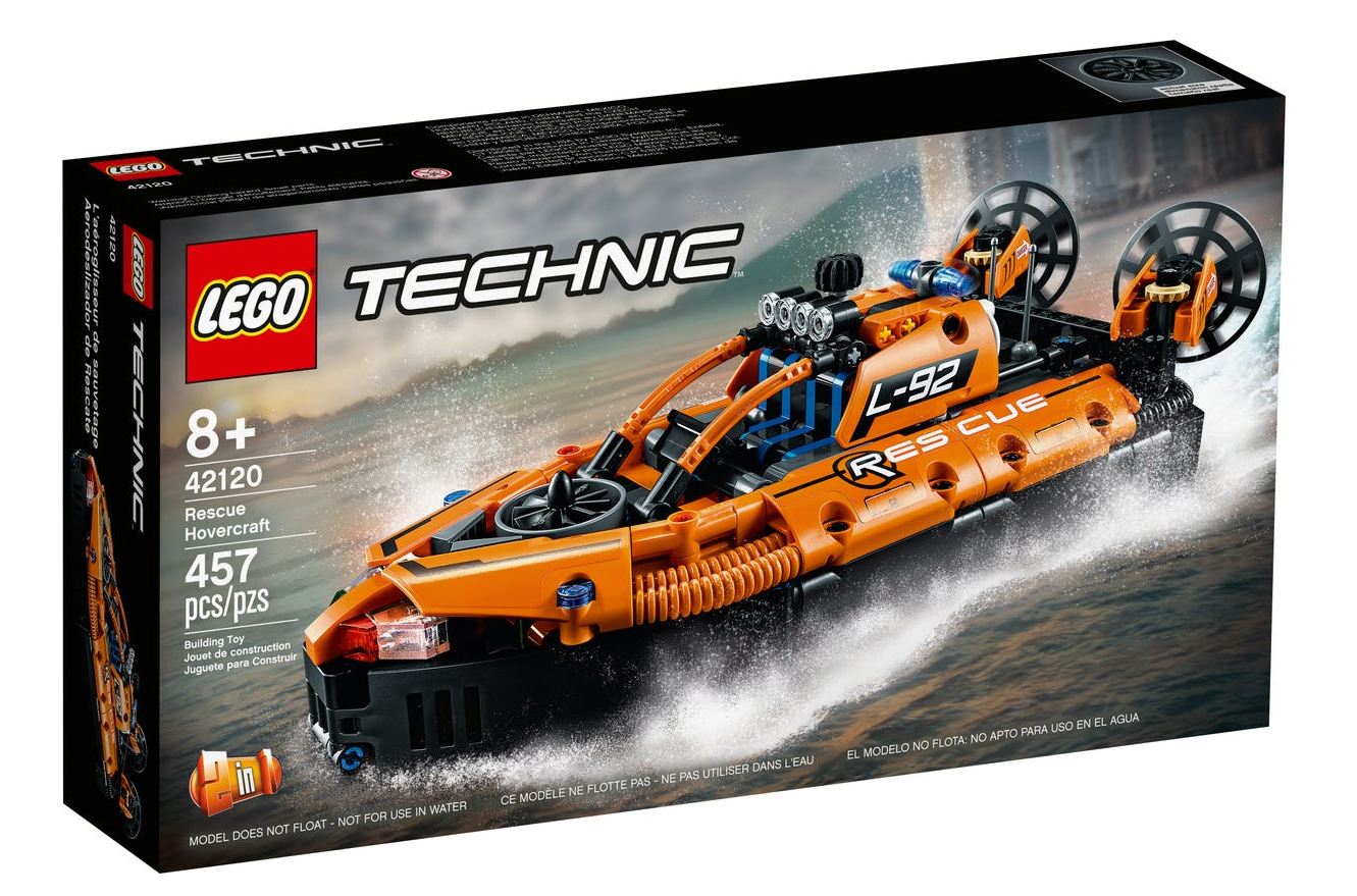 42120 - Technic - Rescue Hovercraft