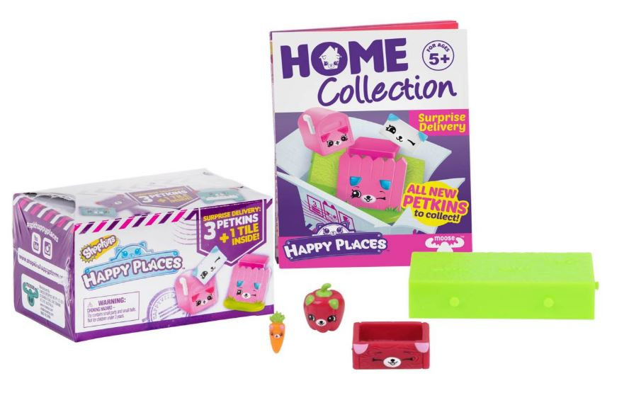 Happy Places Shopkins Delivery Pack - Season 2