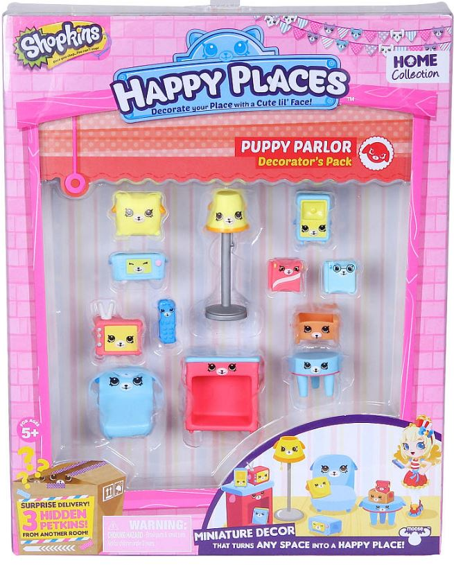 Shopkins - Decorators Pack - Puppy Parlor