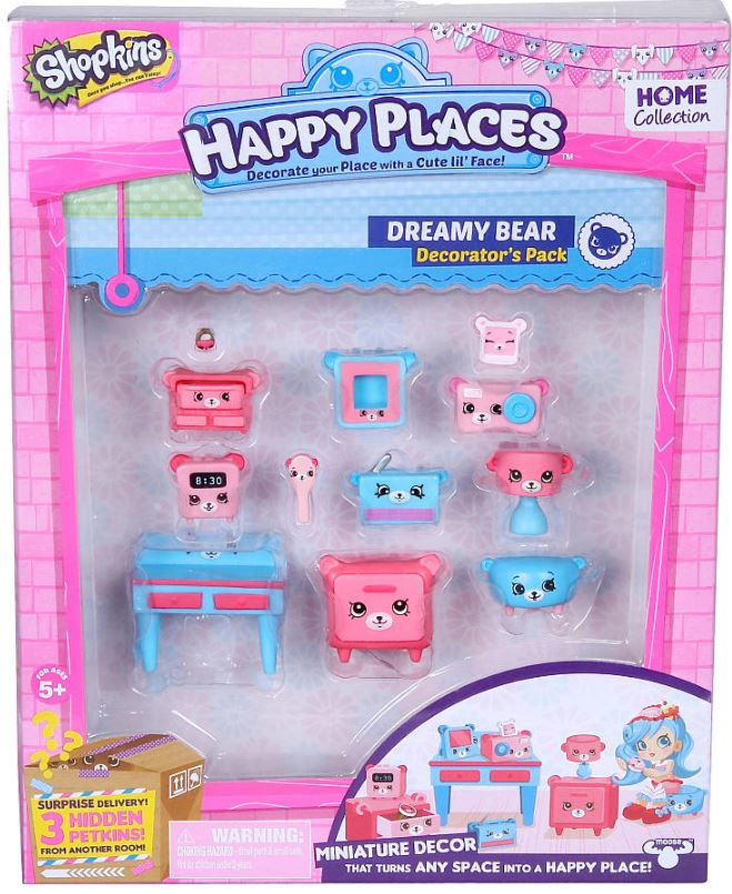 Shopkins - Decorators Pack - Dreamy Bear