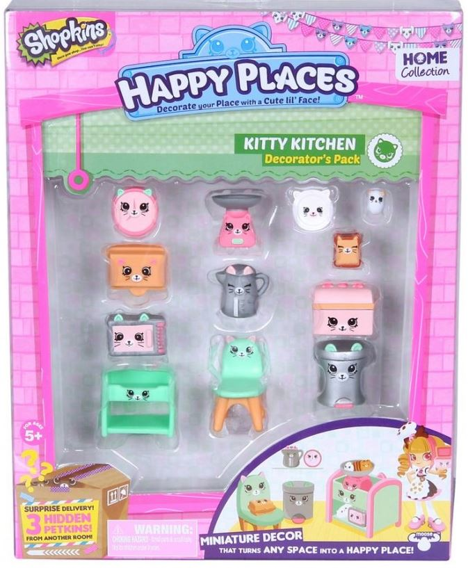Shopkins - Decorators - Kitty Kitchen
