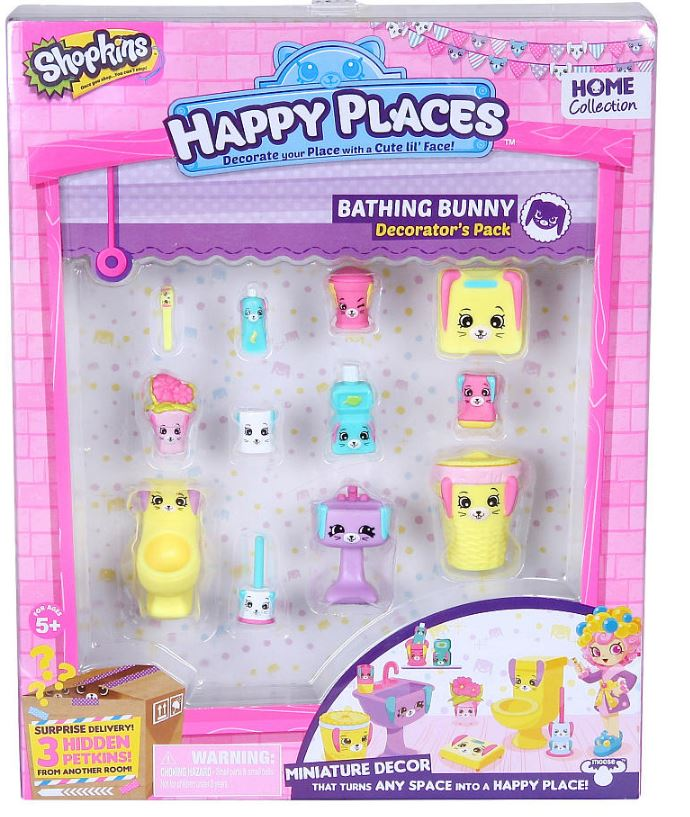 Shopkins - Decorators Pack - Bathing Bunny
