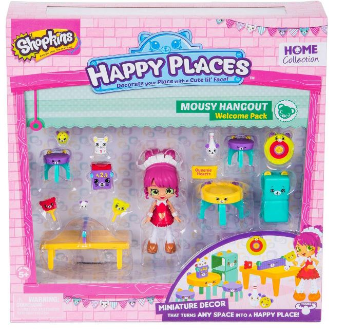 Happy Places Shopkins Welcome Pack - Mousy Hangout