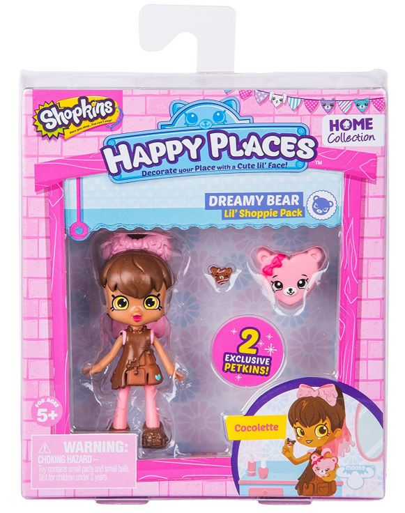 Happy Places Shopkins Lil' Shoppie - Cocolette