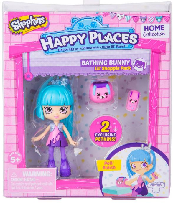 Happy Places Shopkins Lil Shoppie - Polli Polish