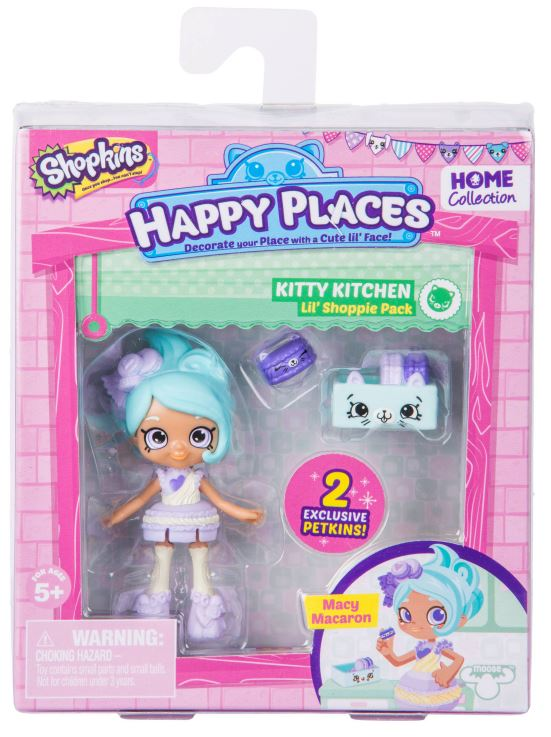 Happy Places Shopkins Lil' Shoppies - Macy Macaroon
