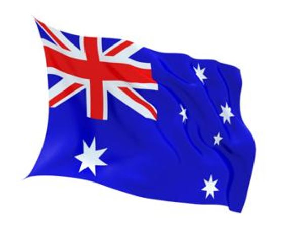 FLAG AUSTRALIA INDOOR WALL 5x3