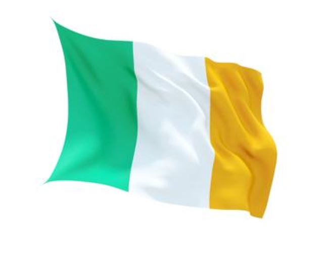 FLAG IRELAND INDOOR WALL 5x3