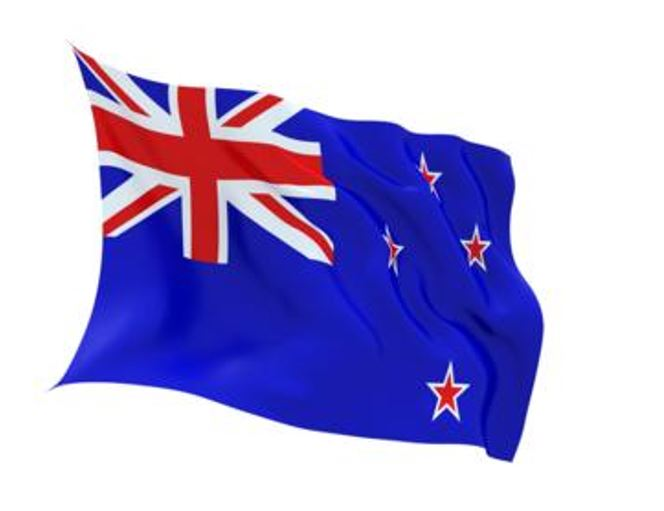 FLAG NEW ZEALAND INDOOR WALL 5x3