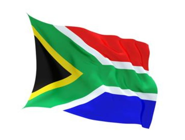 FLAG STH.AFRICA INDOOR WALL 5x3