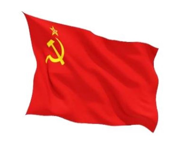 FLAG USSR INDOOR WALL 5x3