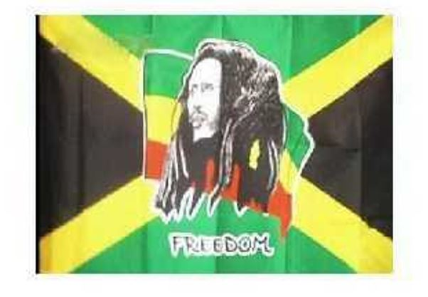 FLAG BOB MARLEY INDOOR WALL 5x3