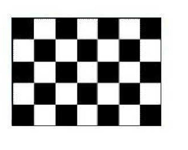 FLAG CHECKERED INDOOR WALL 5x3