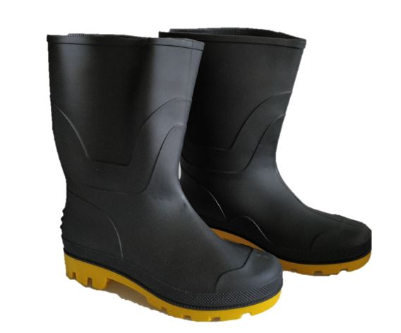 Adults Gumboots - Black