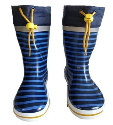Kids Gumboots - Striped