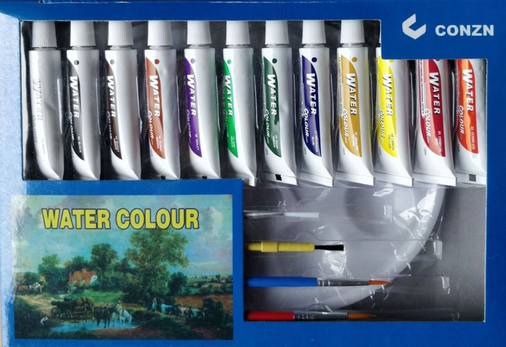 Paint Brush Pallet Set Water