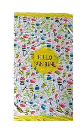 Beach Towel Extra Large 1M X 2M