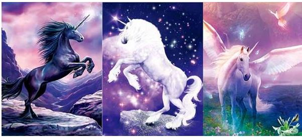 3D Wall Art - Mystical Unicorn