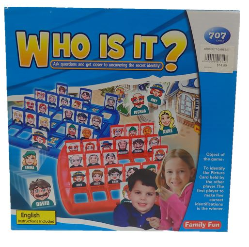 Who Is It? Game Set