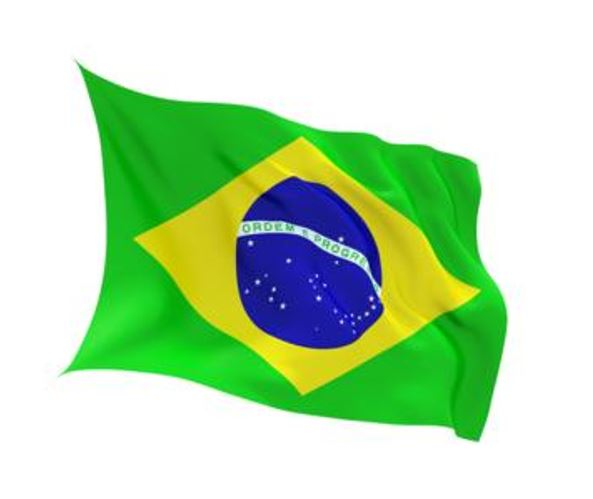 FLAG BRAZIL INDOOR WALL 5x3
