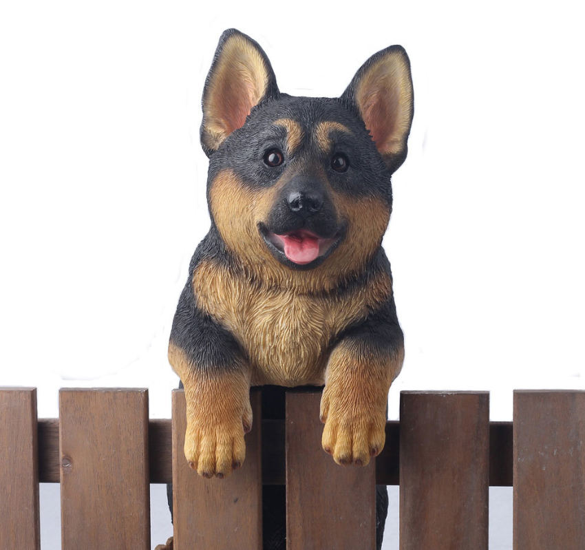 German Shepherd Fence Animal